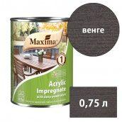 Морилка акриловая глубокого проникновения Acrylic Impregnate MAXIMA венге 0,75 л