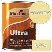 Лазурь деревозащитная  Ultra woodcare product with UV protection MAXIMA бесцветный 0,75 л