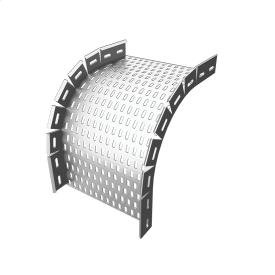Арка универсальная 90 градусов H40 внешний изгиб 50 мм PlechoFlex
