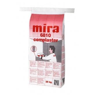 Шпаклевка финишная Mira 6810 cemplaster 25 кг серая