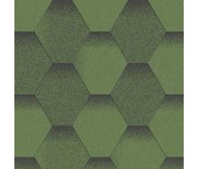 Битумная черепица Aquaizol Мозаика 1000*320 мм Хвойный лес