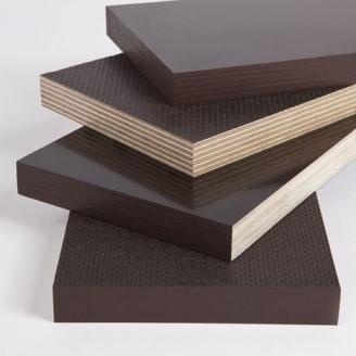Фанера СВЕЗА ФСФ Сит/ГЛ ламинированная влагостойкая 2500х1250х18 мм темно-коричневый