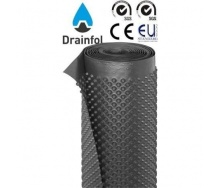 Шиповидная мембрана Drainfol 400 г 1,5х20 м