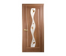Двери межкомнатные Новый Стиль МАЭСТРА Р Волна 600х2000 мм золотая ольха