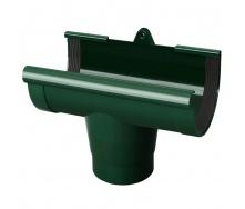 Воронка желоба Rainway 90/75 мм зеленая
