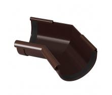 Угол желоба внутренний Rainway 135 градусов 90 мм коричневый