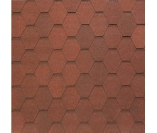 Битумно-полимерная черепица Tegola Nobil Tile Вест 1000х337 мм темно-красный