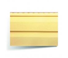 Виниловый сайдинг Альта-Профиль KANADA плюс Престиж желтый