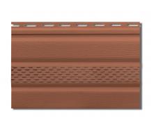 Софит Альта-Профиль Т-20-У с частичной перфорацией 3000х230 мм дуб светлый