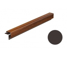 Угол наружный для софита Galeco DECOR 3000 мм темно-коричневый