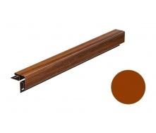 Угол наружный для софита Galeco DECOR 3000 мм золотой дуб
