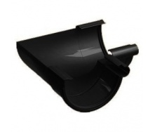 Внутренний угол 135° Galeco PVC130 130 мм (RE130-LW135-Х) (RAL9005/антрацит)