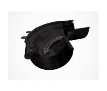 Внешний регулируемый угол 90-150° Galeco PVC130 130 мм (RE130-LZREG-P) (RAL9005/антрацит)