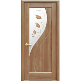 Двері міжкімнатні Новий Стиль МАЕСТРА Прима Р1 600х2000 мм вільха золота
