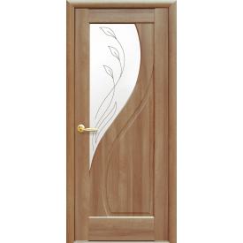 Двері міжкімнатні Новий Стиль МАЕСТРА Прима Р2 600х2000 мм вільха золота