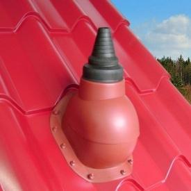 Антенный проход Kronoplast PABN-1 для металлочерепицы 28 мм типа Монтерей