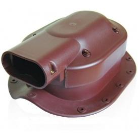 Проходной элемент Kronoplast SOLAR PSBN-1 для металлочерепицы 28 мм типа Монтерей