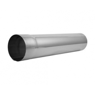 Труба водостічна АКВАСИСТЕМ цинк-титан 90 мм 3 м