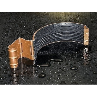 Соединитель желоба Struga 125 мм