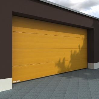 Гаражні секційні ворота KRUZIK Base Dura Print Standard Орегон