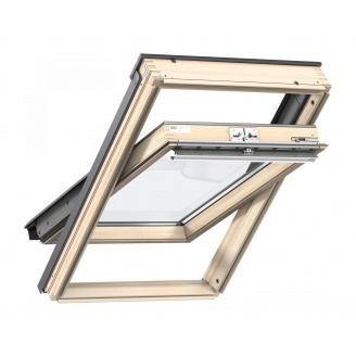 Мансардне вікно VELUX Стандарт GZL 1051 FK04 дерев'яне 660х980 мм