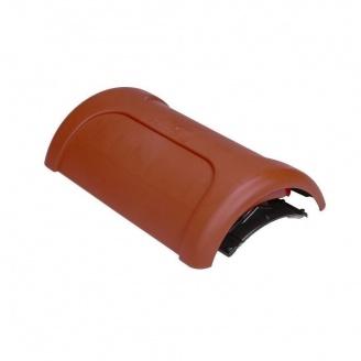 Коньковый вентиль VILPE PELTI-KTV/HARJA 350х225 мм красный