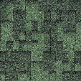 Битумная черепица Aquaizol Акцент 320х1000 мм зеленый эко
