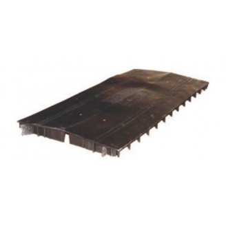 Аэратор Aquaizol коньковый 34х280х1220 мм черный
