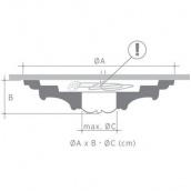 Стельова розетка Orac Decor Luxxus R52