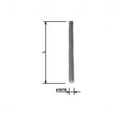Блискавкоприймач 18x1 м HDG KovoFlex
