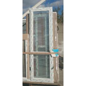 Двері вхідні скляні 6-камерний профіль WDS 700х2200 мм