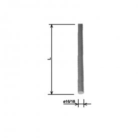 Молниеприемник 18x1 м HDG KovoFlex