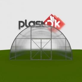 Фермерське теплиця алюминиевая 6x8x3,4 м Ferma-ALU 40x40