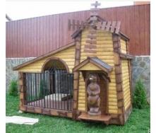 Вольєр дерев'яний Гюмрі для собаки 6м2