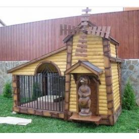 Вольер деревянный Гюмри для собаки 6м2