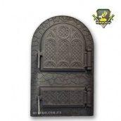 Дверца спаренная арочная Микулин 530х330 мм