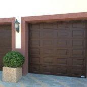 Изготовление секционных гаражных ворот