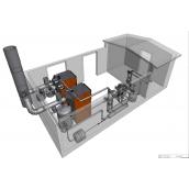 Автономная блочная модульная котельная на твердом топливе IGNIS