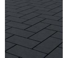 Клинкерная брусчатка Керамейя БрукКЕРАМ Классика БАЗАЛЬТ ПВ-1 М-450 200х100х45 мм