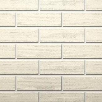Клинкерный кирпич Керамейя КлинКЕРАМ Рустика Жемчуг 1 ПР-1/2 с посыпкой 250x60x65 мм
