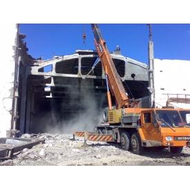 Демонтаж железобетонного сооружения