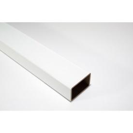 Балясина ограждения HOLZDORF Глянец из ДПК 35х50х4000 мм белая