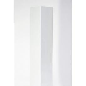 Профіль опорний HOLZDORF Глянець з ДПК 100х100х4000 мм білий