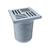 Перфорированный надставной элемент TOPWET из нержавеющей стали