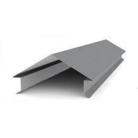 Парапет фигурный металлический оцинкованный 0,4 мм 2 м