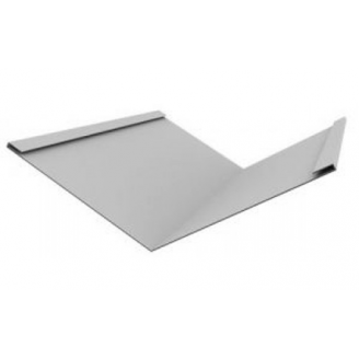 Ендова металлическая оцинкованная 100x100 мм 2 м
