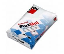 Клей для плитки Baumit FlexUni, клас C2TE, універсальний, еластичний 25кг
