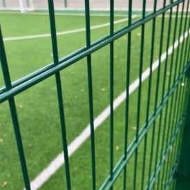 Секція огорожі Спорт 2D 2,5х2,03 м 6х5х6 мм зелена