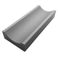 Желоб водоотводный бетонный вибролитой малый 35х16х6 см