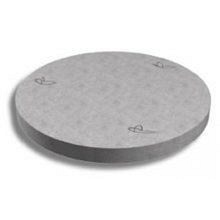 Люк каналізаційний таблетка Континент залізобетон 74х10 см